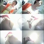 美人店員Pチラ逆さ撮り!ロイドさんの 働くお姉さん FILE.191 「オレンジカーディガン美女」