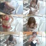 密撮!!夏の海岸洋式個室トイレVol.2