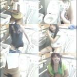 密撮!!夏の海岸洋式個室トイレVol.7