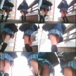 制服美少女専門!TRYKさんの密着!ストーキングPチラ File.11
