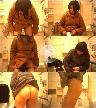 キャロルさんのハイビジョン トイレ盗撮!熟女編 File003