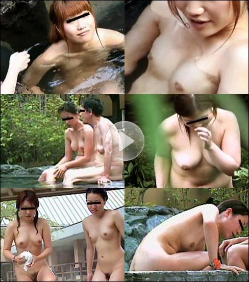 裸体全開露天風呂盗撮06